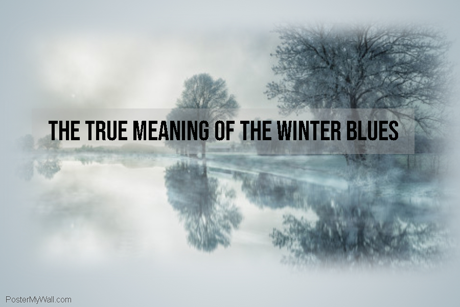 winter blues header for blog - made with postermywall