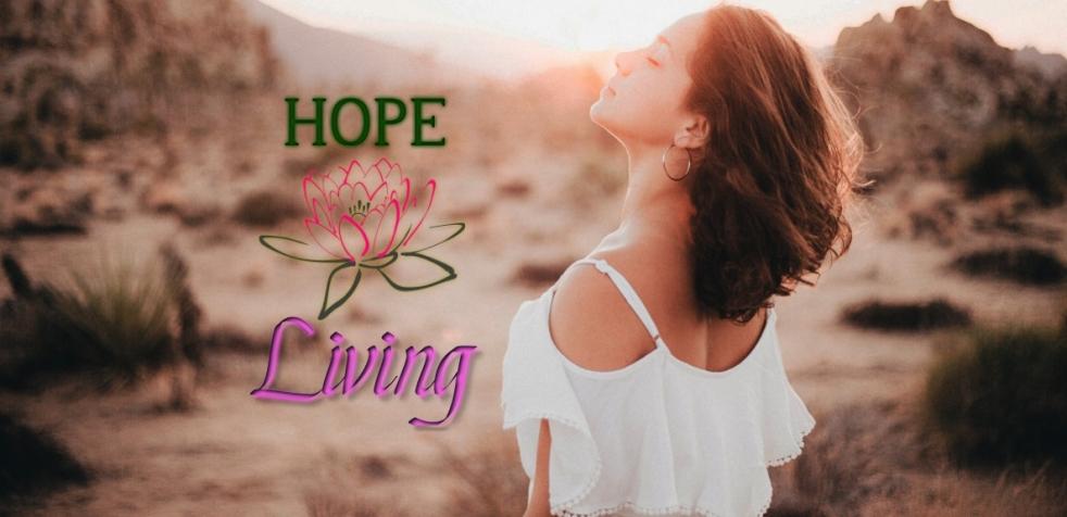 Hope Living Love Of Me - Testimony Header