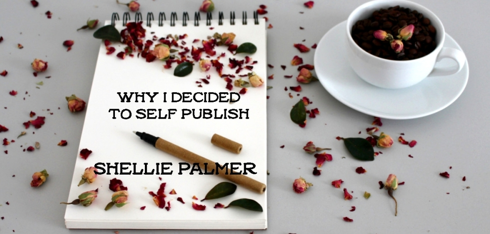 Why I Decided To Self Publish Blog Header