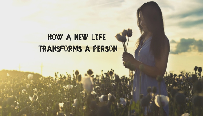 How A New Life Transforms A Person Testimony Header